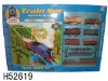 Electric Rail Cars Strip With Light Music Toys H52619
