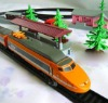 Electric powered train toy , toy train