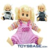 Emulational and funny design lifelike baby doll