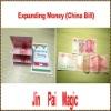 Expanding Money (China Bill) by Fujiwara,money magic,magic props,magic trick,magic set