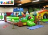 FUNNY INFLATABLES CASTLE