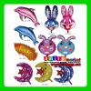 Factory Outlets MIX styles wholesale CHEAP various animal sheped foil balloons mylar balloon