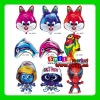 Factory Outlets MIX styles wholesale CHEAP various kinds animal print balloons