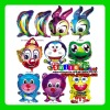 Factory Outlets MIX styles wholesale CHEAP various kinds animal shape aluminium foil balloons