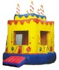 Fashion Birthday Cake Inflatable Bouncer House