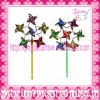 Fashion Coloful Nylon Windmill