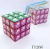 Fashion Design Educational plastic magic cube toys