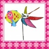 Fashion Fish-shaped Windmill