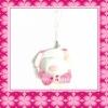 Fashion Lovely Doll-shape plush keychain For Children