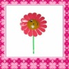 Fashion Plastic Besutiful Gift Windmill