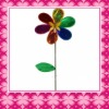 Fashion Plastic Flower Windmill