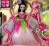 Fashion costume  plastic doll