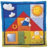 Fashion cute square soft cotton baby play mat