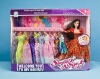 Fashion doll toys with many beautiful clothese, OEM available.