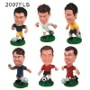 Fashion football player action figures toys