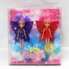 Fashion small plastic angel doll with a bicycle, kids toy,baby dolls
