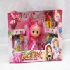 Fashion small plastic baby doll with clothing , kids toy,baby dolls