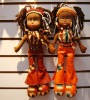 Fashion stuffed doll