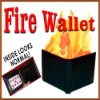 Fire wallet magic,card into fire wallet magic,fire magic,wallet magic