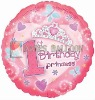 First birthday DIA 18'' inflatable foil balloon