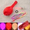 Flashing LED Light Balloon Red