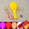 Flashing LED Light Balloon Yellow