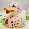 Flashing Light Bath PVC Duck