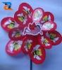 Flower Spinning Garden Stake