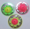 Flower shape whipping top / plastic top / promotion toys