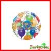Foil Balloon & Stars Happy Birthday Balloon /Birthday party balloons supplies