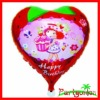 Foil Balloons With Heart Shaped Happy Birthday Strawberry Girl