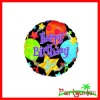 Foil Jubilee Happy Birthday Balloon 18in/Birthday party balloons supplies