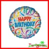 Foil Party Streamers Happy Birthday Balloon/Birthday party balloons supplies