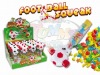 Football Squeak candy toy
