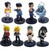 Fullmetal Alchemist Mini Figure Set Of 8pcs New In Box