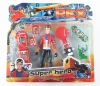GENERRTOR REX CHARACTER WITH YOYO AND CELLPHONE AND FLYING DISK FINGER SKATEBOARD 3 MIXED