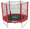 GSD Fitness equipment outdoor playground trampoline with safety net(ladder,wether cover&wind staks) Mini Trampoline 6FT~16FT