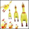 Good quality screaming rubber chicken with fty price