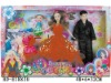 """HD-E18830 11"""" solid body beauty doll with accessories"""
