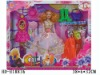 """HD-E18836 11"""" empty body beauty doll with accessories"""