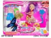 """HD-E18868 3"""" solid body doll with accessories"""