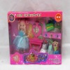 HOT! small plastic baby doll with clothing and fittings,beauty princess doll,baby dolls