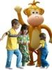 HUGE Inflatable Monkey
