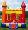 Happy Inflatable Moonbounce for kids