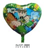 Heart Shape AD Cartoon Ben 10 Balloon