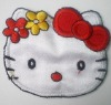 Hello Kitty embroidered badge