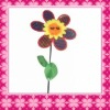 High Quality Pvc Flower Windmill