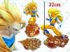 High quality Anime Dragon Ball Super Isaiah Goku making pvc figure