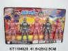 Hot Action Figure, Cartoon Toys with light  KT1104029