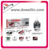 Hot Sales 3 Channel Large Full Metal RC Helicopter with GYRO+USB